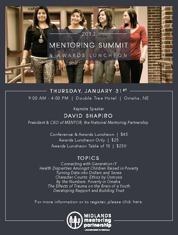 2013 Mentoring Summit & Awards Luncheon