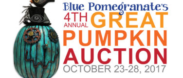 Thank you Blue Pomegranate Gallery for your Great Pumpkin Auction Benefiting P4K!